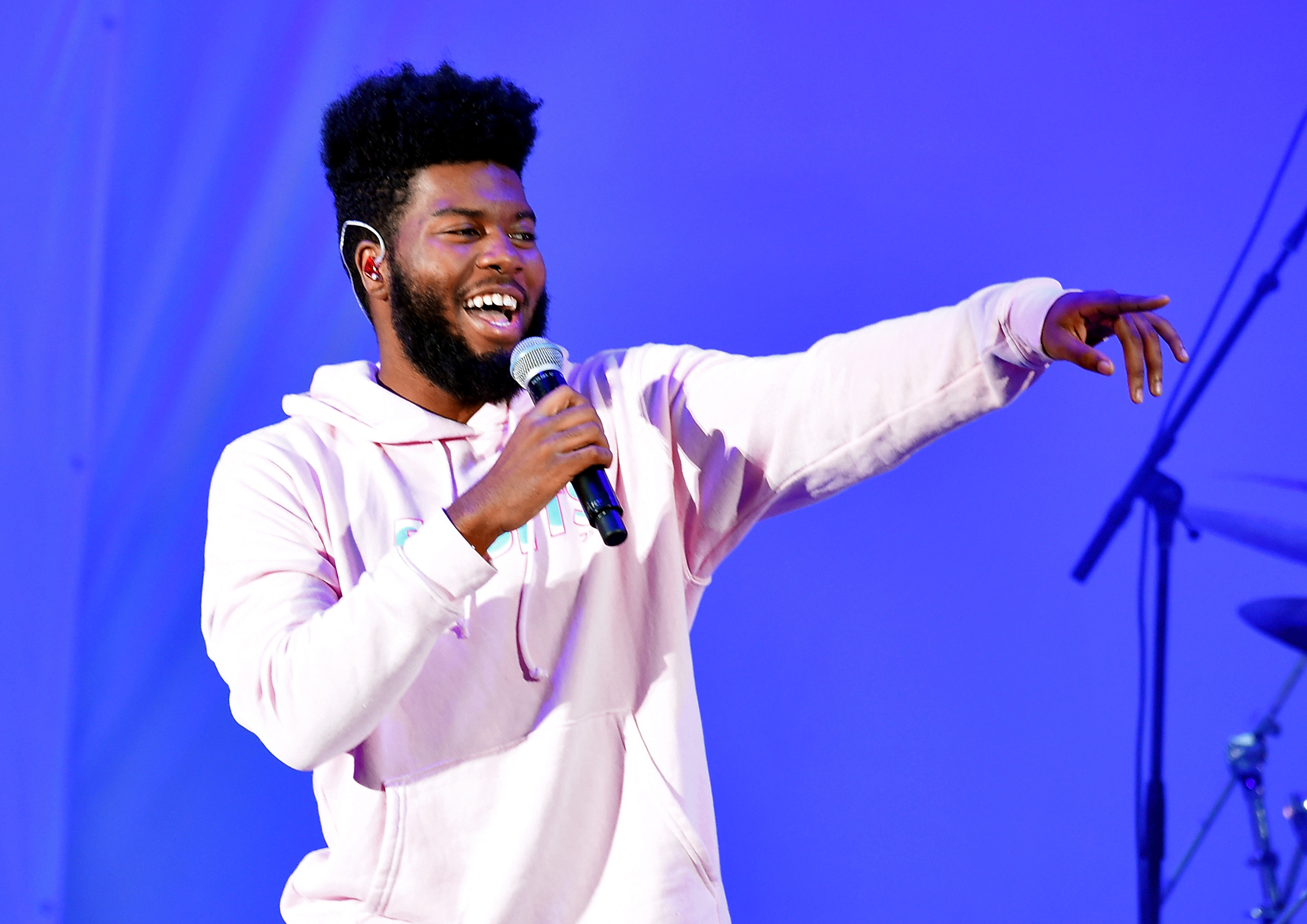 LOS ANGELES, CA - OCTOBER 21: Khalid performs onstage at CBS RADIO's We Can Survive 2017 at The Hollywood Bowl on October 21, 2017 in Los Angeles, California. (Photo by Kevin Winter/Getty Images for CBS RADIO)